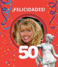 Álbum personalizado de fotos para celebrar el 50 cumpleaños de las mujeres más importantes de tu vida. ¡Un #regalo original para un cumpleaños redondo! Desde $29,70 o 22,40€