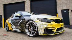 Visually stunning graphic package on this M3.