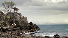 temple on the beach