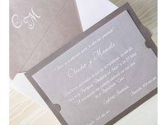 Invitación de boda 32836 #bodastyle.com #invitacioneas #invitaciones