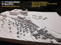 Architectural model  1:500  Maquetas Axfito