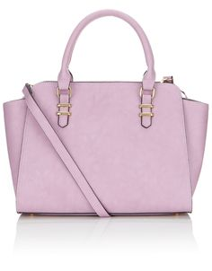 Note to self: need more Lilac  Georgia Winged Handheld Bag   Purple   Accessorize