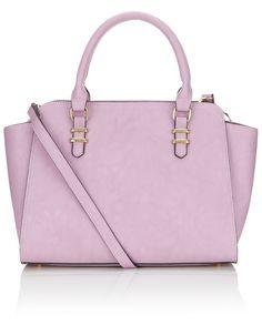 Georgia Winged Handheld Bag | Purple | Accessorize