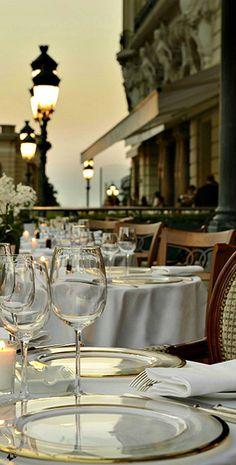 This I love - Dining in Paris...