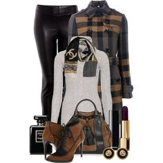 Cute Outfits with Leggings | Cute Winter Outfits 2012 | Chanel & Burberry | Fashionista Trends