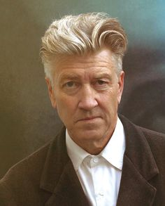 David Lynch self portrait.