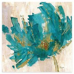 A bright addition to any room, the Contemporary Teal Flower Canvas Wall Art is a canvas print that makes every day feel like spring. Inviting, midcentury design with gorgeous colors make this piece dreamy and appealing. Canvas Art Prints, Canvas Wall Art, Art Web, Metal Tree Wall Art, Teal Wall Art, Metal Art, Teal Flowers, Watercolor Art, Cool Art