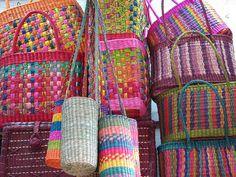 Market baskets in Peru