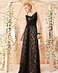 osell wholesale dropship Lace Satin Beading V Neck Sleeveless Brush Train A Line Evening Prom Dress $217.37