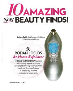 """100,000 SOLD in less than 29 DAYS!!!!   People's Style Watch is calling our new MACRO Exfoliator """"AMAZING!"""" - with results equivalent to a Professional Microdermabrasion Treatment!! If you want to look younger, this tool will pay for itself in just 1 use when compared to professional in-office treatments. AMAZING RESULTS after just 1 to 2 uses!!! Takes 5 minutes per week, and it comes with a 60 day money back guarantee! The best part is NO DOWN TIME!  Learn more at www.tonibritz.myrandf.com"""