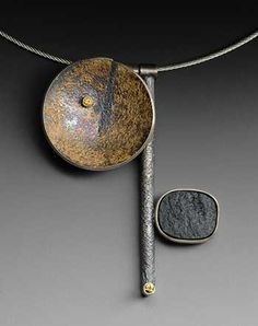 roger rimel jewelry...wonderful textural surfaces.