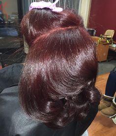 19 Fantastic Hair Bundle Extensions Human Hair Blonde Hair Bundles Under 40 Pressed Natural Hair, Dyed Natural Hair, Dyed Hair, Burgundy Natural Hair, Hydrangea Petiolaris, Afro, Curly Hair Styles, Natural Hair Styles, Long Face Hairstyles