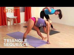 10 Minutos de Excercícios Para Perder Barriga Com Base em Yoga