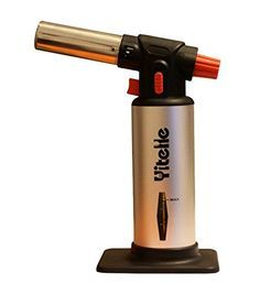Amazon.com: Culinary Torch - Cooking Torch - Chef's Best Torch - Crème Brulee Torch - Blow Torch - Multifunctional Heat Resistant - Kitchen Torch - Professional Brazing Torch - Baking Torch - Butane Torch: Kitchen & Dining