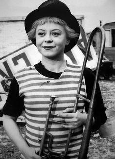 Giulietta Masina (1921-1994) wife and muse  Federico Fellini