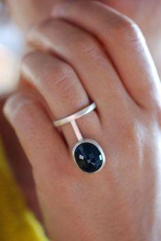 How to: simple bezel stone set ring. | ChloeHenderson
