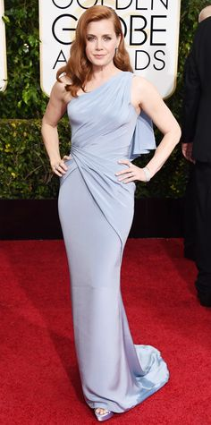 Golden Globes 2015: Red Carpet Arrivals - Amy Adams from #InStyle