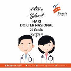 Selamat Hari Dokter Nasional  #bakrieamanah