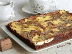 Il Brownies cheesecake al cioccolato è davvero una bontà