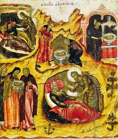 Odnalezienie głowy Jana Chrzciciela. Om te vinden het hoofd van Johannes de Doper.
