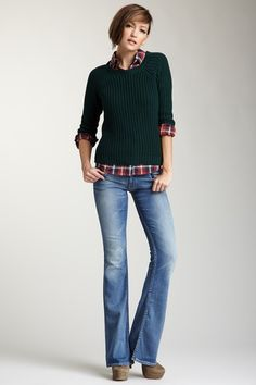 love this outfit. HUDSON Womens Denim on HauteLook