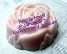 Hey, I found this really awesome Etsy listing at https://www.etsy.com/listing/247411837/helping-hands-rose-soap-fundraiser-bar