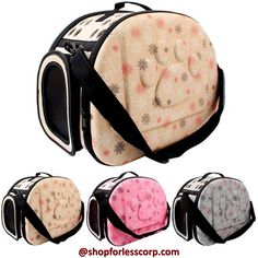 Travel Shoulder Bag for Small Dog Pets... #foldable #smalldogs #puppy #bags #trendy #convenient #instabags #travelanywhere