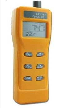 320.39$  Buy now - http://alittf.worldwells.pw/go.php?t=32230008251 - AZ7752 Handheld carbon dioxide detector CO2 gas detector air quality monitor with temperature measurement 320.39$
