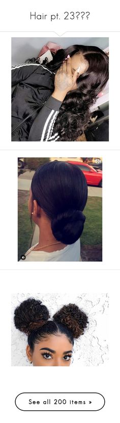 """""""Hair pt. 23❤️😍"""" by aleciadowdemll ❤ liked on Polyvore featuring accessories, hair accessories, hair, beauty products, haircare, jewelry, earrings, braid jewelry, hair styling tools and beauty"""