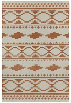 The Heirs style is a new wool, transitional rug design from Genevieve Gorder and Capel Rugs. Heirs rugs have a flat woven construction. Textiles, Textile Patterns, Print Patterns, Textile Design, Cleveland, Genevieve Gorder, Ohio, Rug Company, Transitional Rugs