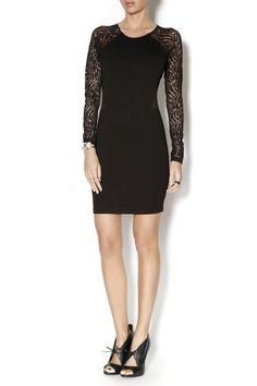 Naomi Black Lace Dress