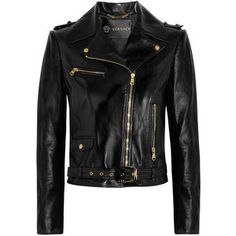 18b8891ae 40+ Everyday Spring Outfits To Copy Right Now. Versace Leather  JacketLeather JacketsBiker ...