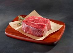 Today's breakfast idea. Steak. A big fat steak from one of the best butchers selling American Kobe Wagyu Beef. More info in the link in our bio! http://ift.tt/2su3DSO #ToLiveAndDine #Foodie #Travel #Food #Traveler #Wanderlust