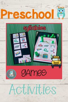 Phonological Awareness Activities, Rhyming Activities, Early Years Teaching, Kids Coping Skills, Print Awareness, Initial Sounds, Alliteration, School Themes, Early Literacy