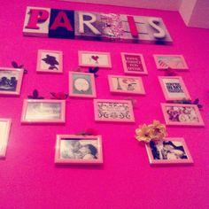Paris in my room @Jocelyn Bainter