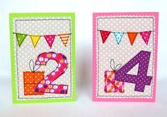 *Happy Birthday...*  und damit er noch schöner wird muss diese Karte her!  Aufwändig benäht ist diese süße Karte eine absolute Besonderheit auf dem Geburtstagstisch. Und während alle anderen...