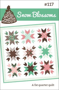Snow Blossoms quilt