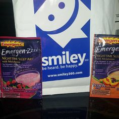 Emergen-zzz is amazing! I got a free sample from smiley360 and this stuff helps me sleep so much better now!!