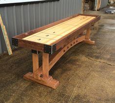 How To Build A Shuffleboard Table | Pinterest | Shuffleboard Table,  Basements And Men Cave