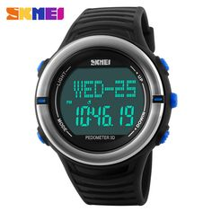 Special price Pedometer Heart Rate Monitor Calories Counter Digital Watch Fitness For Men Women Outdoor Wristwatches Skmei Sports Watches just only $18.96 with free shipping worldwide  #menwatches Plese click on picture to see our special price for you