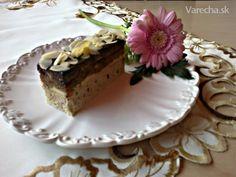 Orieškovo-karamelové rezy s bielou čokoládou (fotorecept)