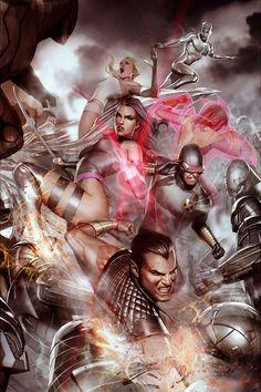 Uncanny X-Men: Psylocke by Adi Granov