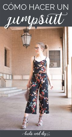 A beautiful DIY jumpsuit, also called jumpsuit or overall, for a casual outfit ideal for summer! Learn how to make your DIY jumpsuit by clicking on the image. Curvy Fashion, Urban Fashion, Diy Fashion, Womens Fashion, Fashion Trends, Fashion Design, Fashion Edgy, Fashion Fall, Fashion Ideas