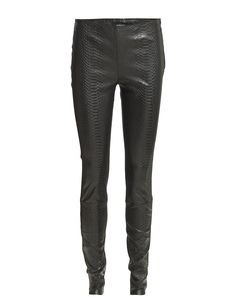 DAY - Marley Snake Faux snake skin texture Side zip closure Skinny fit Cool Leather leggings Made from luxurious materials Modern Pants Trousers Leggings Leather Leggings, Skinny Fit, Snake Skin, Trousers, Closure, Texture, Zip, Fitness, Modern