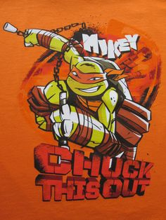 TMNT - Michelangelo by ~RockerDragonfly