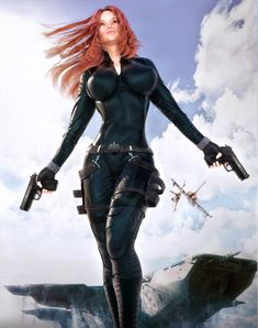 Black Widow by darvarq