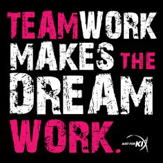 Teamwork makes the dream work. One of my faves. Cheer Quotes, Me Quotes, Motivational Quotes, Funny Quotes, Inspirational Quotes, Cheer Sayings, Random Quotes, Positive Quotes, Team Quotes Teamwork