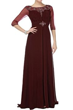 907c6b71ab90d online shopping for Sunvary Vintage A-line Chiffon Mother Bride Dresses  Half Sleeves from top store. See new offer for Sunvary Vintage A-line  Chiffon Mother ...