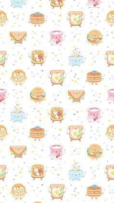 Yiyecekli Duvar Kağıdı