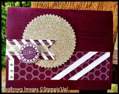 Stampin' Up! Starburst Sayings Birthday Card